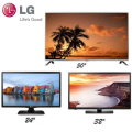 LG 3-TV HDTV Bundle Package Featuring 3 TVs One For Each Room In Your Home!