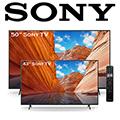 Sony 2 - 4K Ultra HD LED Smart Google TV Bundle Package
