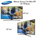 The Ultimate 2 TV Bundle Featuring Samsung 40