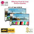 LG 2-TV Smart 4K UHD LED HDTV Bundle With webOS 3.0 Smart TV & Built-in Wi-Fi