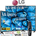 "Hisense LED Smart 4K UHD HDR TV Bundle Featuring Two 55"" TV's & A 65"""