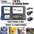 New Nintendo 3DS XL Handheld Gaming System In Choice Of 2 Colors With 4 Games