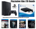 New PS4 Slim Action Bundle Featuring 4 Additional Games & An Extra DualShock Controller