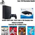 Playstation 4 1 TB Sports Bundle W/4-Games, 2-Wireless Controllers,  & More