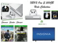 "XBOX One S -500GB Battlefield Bundle W/2-Games, 2-Wireless Controllers, & Insignia 50"" LED TV"