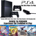 PS4-500GB Family Bundle Featuring Just Dance 2016 + 3-Extra Games, Extra Controller, & More