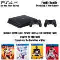 PS4 Pro 1TB Family Bundle Featuring 4 New Games, Extra Controller & More