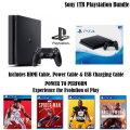 The Ultimate PS4 Slim Sports/Action Bundle With Extra Controller & 4-Premium Games