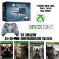 XBOX One Limited Edition Halo 5 Action Bdle 1TB W/4-Games, 2-Wireless Controllers & More
