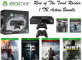 XBOX One Rise of the Tomb Raider 1TB Action Bundle W/4-Games, 2-Wireless Controllers & More