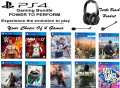 Personalize Your Bundle Featuring 4 Brand New PS4 Game Releases & A Turtle Beach Gaming Headset