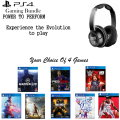 Personalize Your Bundle Featuring 4 New PS4 Game Releases & A Turtle Beach Gaming Headset