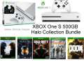Microsoft - Xbox One S 500GB Battlefield Console Collection Bundle W/ 4 Games + Controller