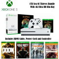 All Teen Adventure - Xbox One S 1TB Sea Of Thieves Console Collection Bundle w/4 Games & Controller
