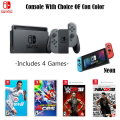 Nintendo Switch 32GB Sports Bundle, Includes Four Games & Choice of Joy Con Color