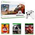 Microsoft Xbox One S 1TB Forza Horizon 4 Bundle, Includes 2 Controllers, HDMI Cable & 3 Extra Games