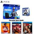 PS4 Fortnite Neo Versa 1TB Core Hardware Bundle with Extra Controller and 3 Sports Games