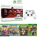Microsoft Xbox One S NBA 2K20 Bundle Includes 2 Controllers, HDMI Cable & 4 Extra Games
