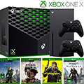 XBOX Series X 1TB Mature Bundle with 4 Games and Extra Controller