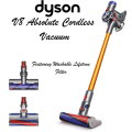 Dyson V8 Absolute Cordless Vacuum Featuring Washable Lifetime Filter System