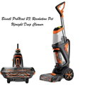 BISSELL - ProHeat 2X Revolution Pet Upright Deep Cleaner -Black/Samba Orange