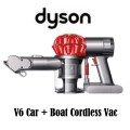 Dyson Car + Boat Handheld Trigger Vacuum - Available In Red/Iron