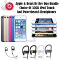 Your Color Choice of An Apple 32GB 6Th Gen iPod Touch Along With Power Beats3 In-Ear Headphones