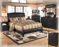 "FREE 20"" LED HDTV With This Upholstered Faux Leather 6PC Contemporary Bedroom Package"