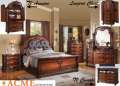Traditional 5PC Master Bedroom Pkg Featuring Elegant Style & Detail Reflected In Decorative Carvings