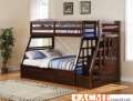 Twin/Full Espresso Bunk Bed With Drawers & Trundle Is The Perfect Solution For Your Children�s Room