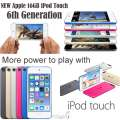 NEW Apple 16GB iPod Touch 6th Gen W/Face Time, Retina Display  & HD Video Recording