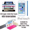 NEW Apple 32GB iPod Touch 6th Gen W/Face Time, Retina Display  & HD Video Recording