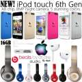 Put The World On Mute W/Apple 16GB iPod Tch 6thGen & Beats By Dr.Dre Studio Wrls Over-Ear Headphones
