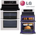 """LG 30"""" Free Standing Electric Double Range-Available In Stainless Steel"""