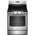 "Maytag 30"" Free-Standing Self Cleaning 5.8 Cu. Ft. Capacity Gas Range-Available In Stainless Steel"