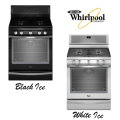 Whirlpool 5.8 Cu. Ft. Free-Standing Self-Cleaning Gas Range - Available In Black Or White