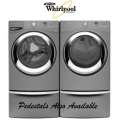 Bundle Up&Save W/Whirlpool Duet Lndry Cntr Featuring Steel Frnt Ld SteamWasher & Electric SteamDryer
