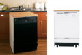 "GE 24"" Convertible/Portable Dishwasher - Available in Black or White"
