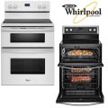 "Whirlpool 30"" Free Standing Electric Double Range-Available In White"