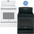 """GE Profile 30"""" Free-Standing Electric Convection Range-Available In White Or Black"""