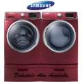 Bundle & Save W/The Samsung Laundry Center Featuring Front Load Steam Washer & Electric Steam Dryer
