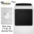 Whirlpool Cabrio 8.8 Cu. Ft. Electric Front Load Dryer-Available In White