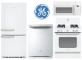 GE Artistry Kitchen Bundle With 20.3 Cu. Ft. Refrigerator & Gas Range - Available In White