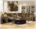 Comfort &amp; Rich Contemporary Design Come Together To Create This Relaxing 3-PC Reclining Sectional
