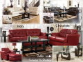 Leather Has Never Been So Affordable W/This 12-PC Room Pkg W/3 Color Options &amp; Metro Modern Design