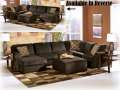 FREE Oversized Accent Ottoman With This Plush & Cozy 3PC Sectional In An Inviting ChocolateCourdoroy