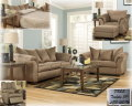 Furniture/TV Combo Pack Featuring 9PC Modern Design With Padded Arms,Plush Comfort &amp; LG 37&quot; LCD HDTV