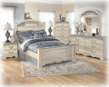 FREE Nightstand With This 7PC Room Package Featuring Light Elegant Style & Ornate Flowing Headboard