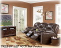 Blended Leather/Leather Match Living Room Furniture