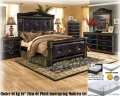 The Ultimate Kg Size Bedroom & Mattress Pkg Featuring 7PC Bedroom Set + 16� Innerspring Mattress Set